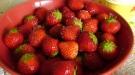 bowl of strawberries copyright Ann Perrin 2012