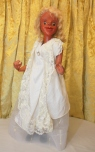 An early cinderella marionette re-dressed by Joan Field