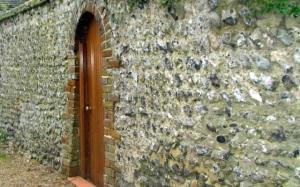 The Rottingdean wishing stone wall?