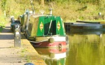Very pretty narrow boat
