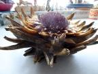 Dried artichoke head